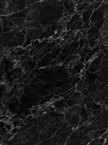 Printed Marble Black Backdrop - 1264 - DropPlace