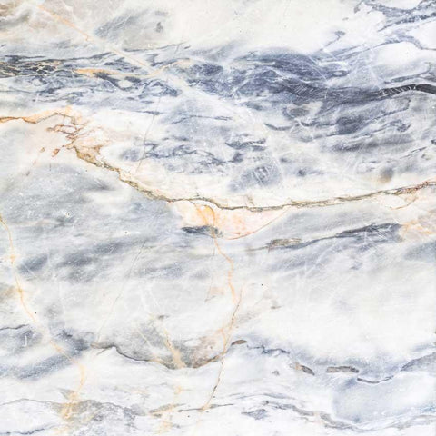 Printed Marble Blue And White Backdrop - 1277 - DropPlace
