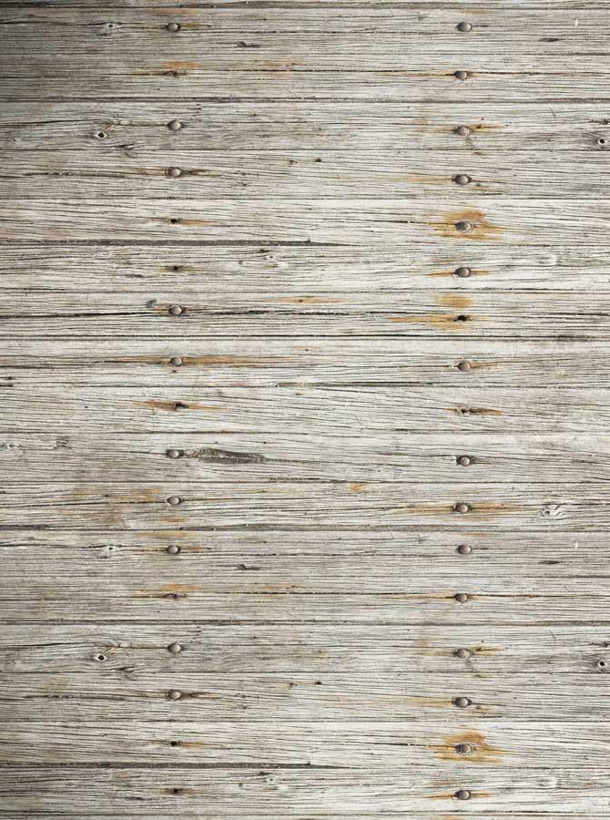 Gray Plank Wood Backdrop - 1281 - DropPlace