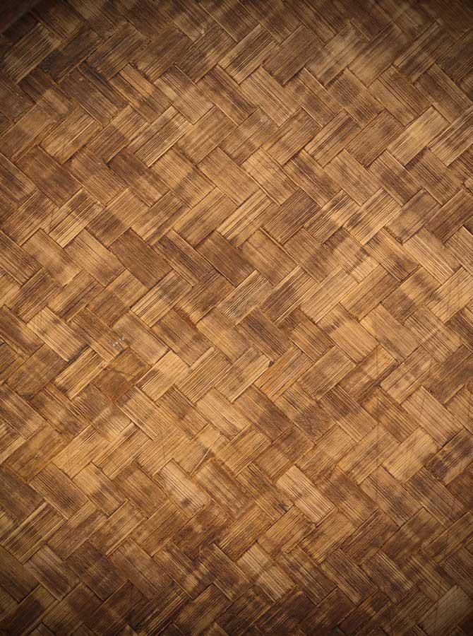 Basket Weave Wood Printed Backdrop - 1381 - DropPlace