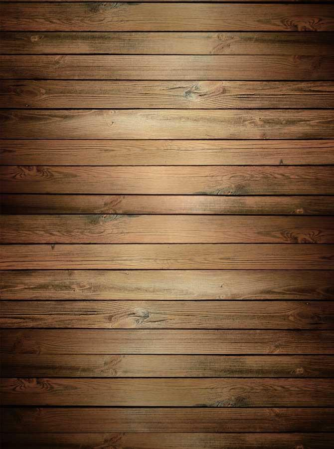 Printed Chestnut Bisque Wood Backdrop - 1422