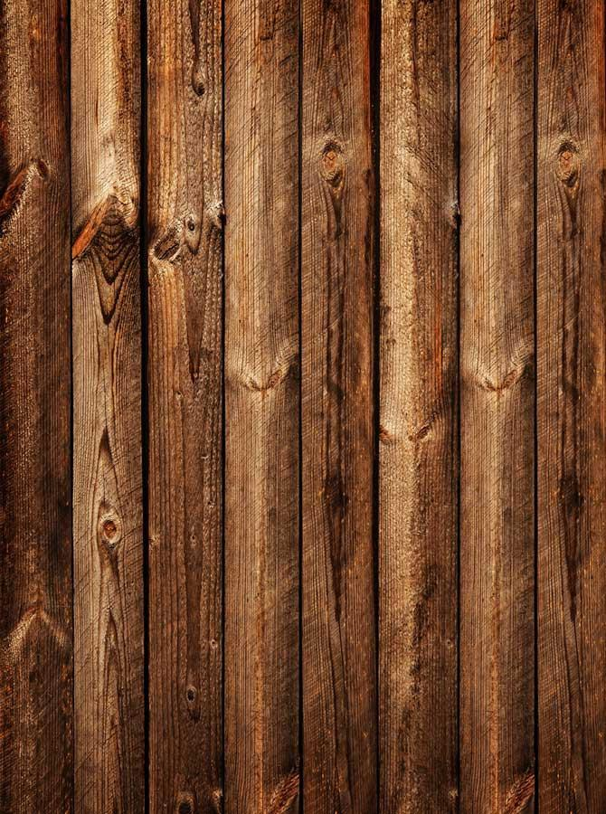 Printed Rustic Wood Floor Wall Backdrop - 1668 - DropPlace