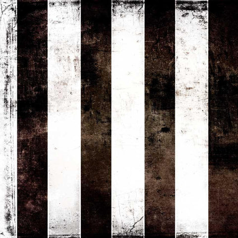 Printed Black White Stripes Backdrop - 1808