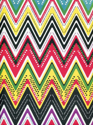 Rainbow Chevron Backdrop - 2338 - DropPlace