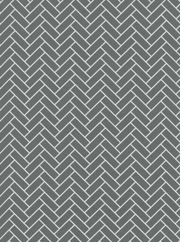 Chevron Gray Tile Wall Backdrop - 2608 - DropPlace