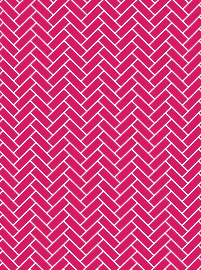 Chevron Pink Tile Wall backdrop - 2610 - DropPlace