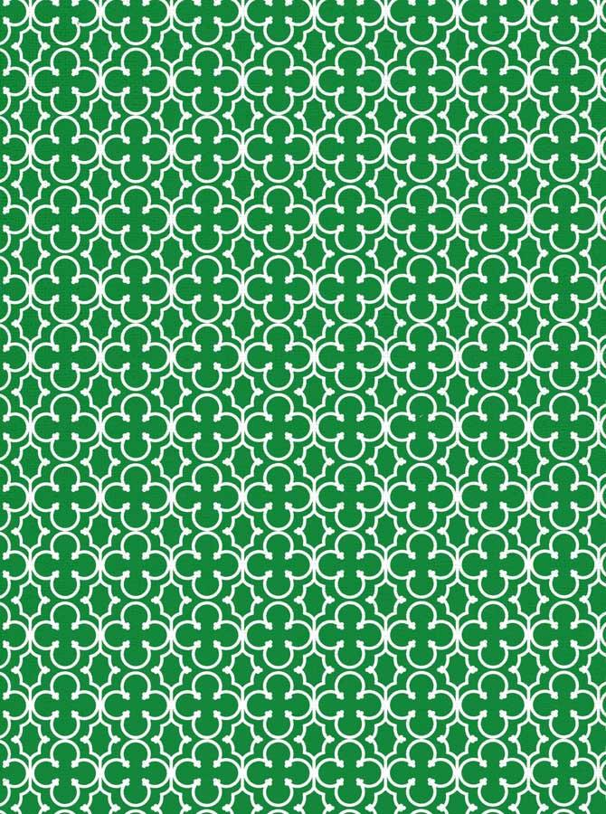 Trellis Pattern Green Backdrop - 2614