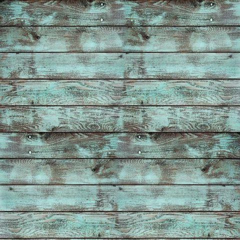Aqua Wood Backdrop - 2813 - DropPlace