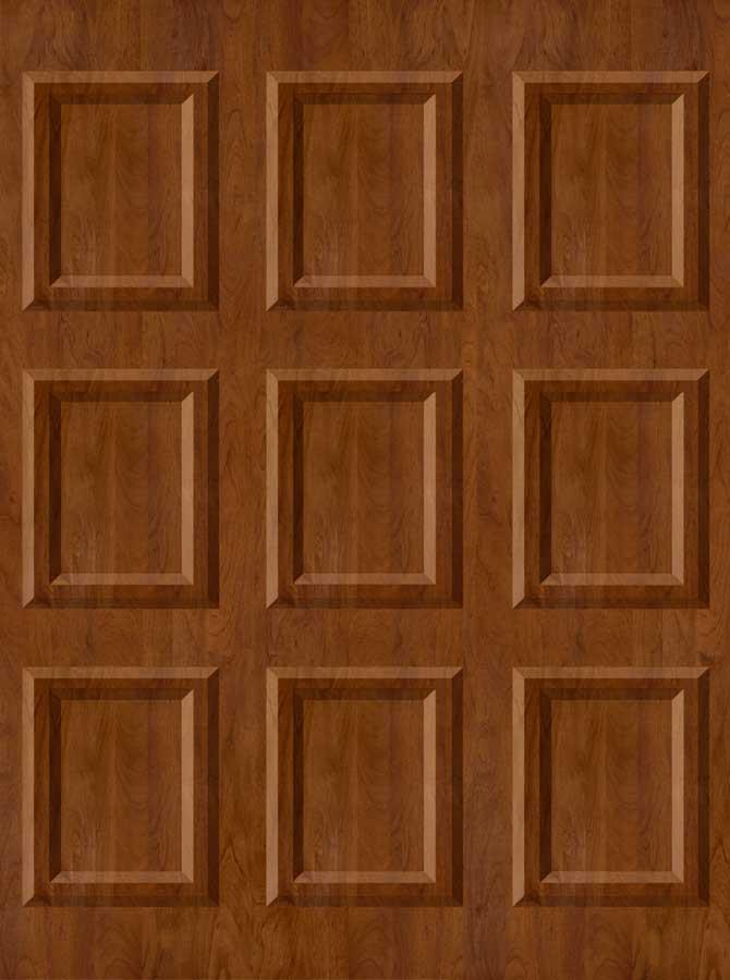 Wood Moulding Wall Backdrop - 2818 - DropPlace