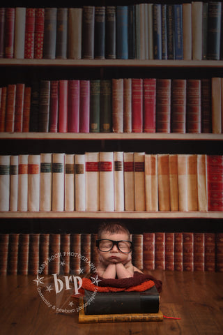 Book Worm Photo Background / 297 - DropPlace