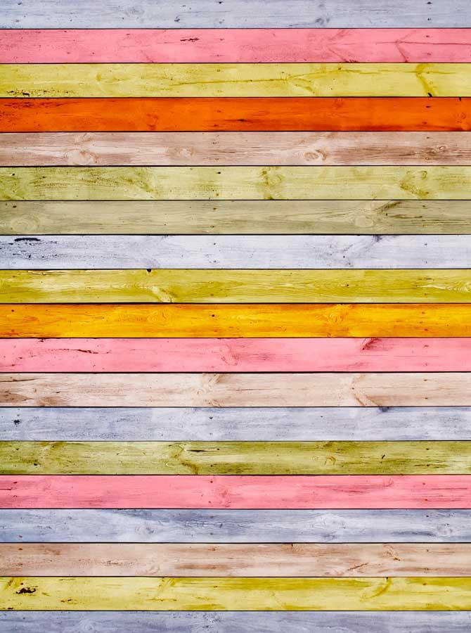 Candy Color Wood Backdrop - 3005 - DropPlace