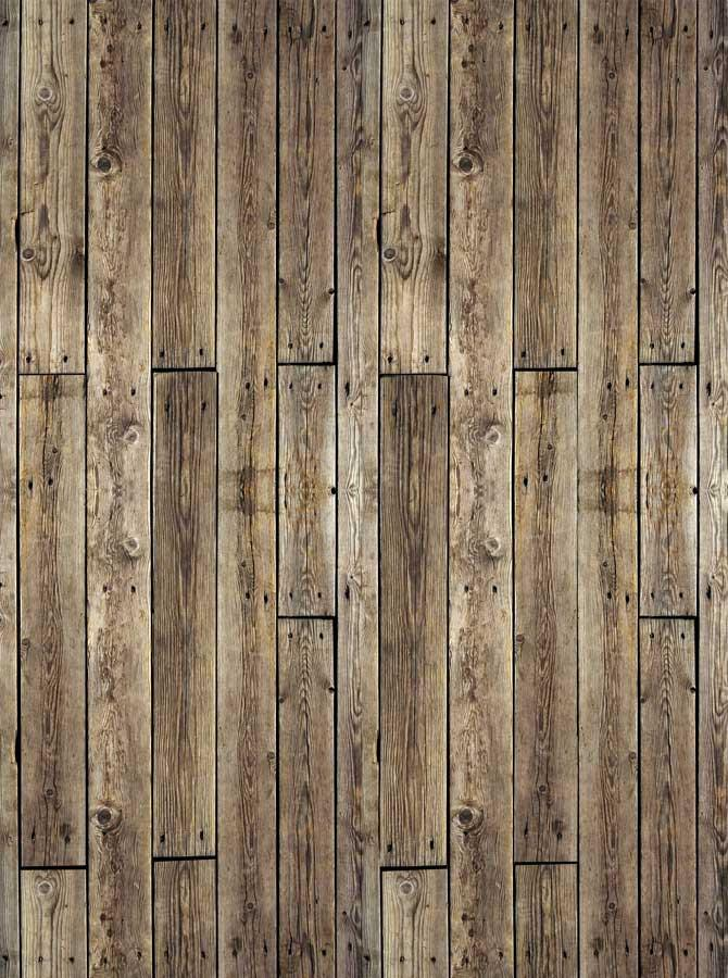 Woodland Brown Wood Backdrop - 308