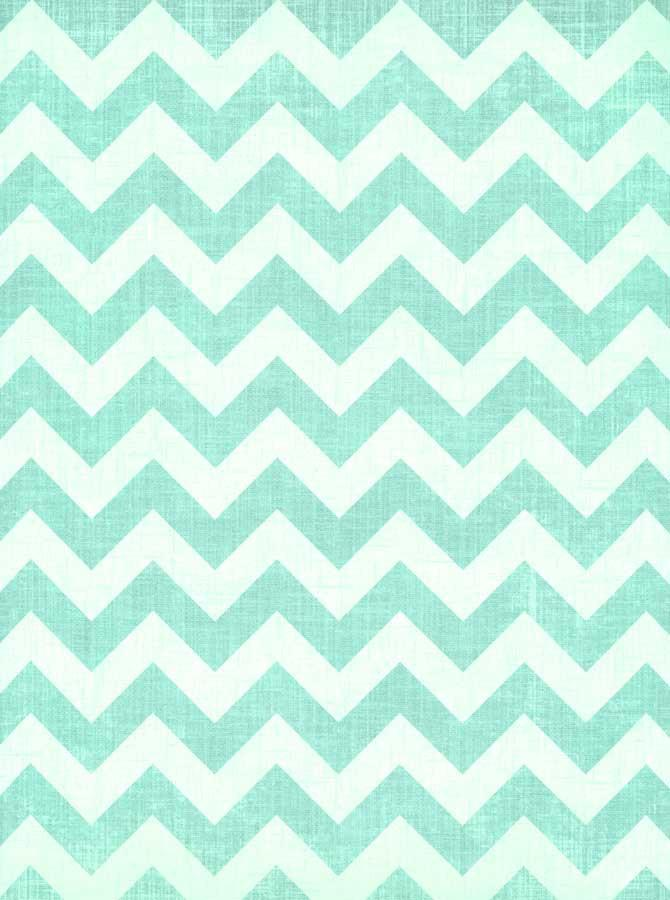 Chevron Teal Blue Printed Photo Backdrop - 3521 - DropPlace