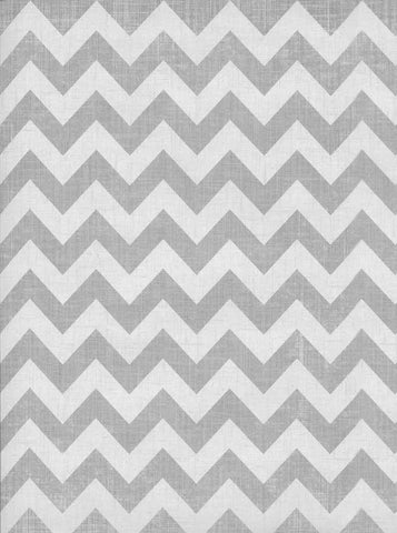 Printed Chevron Gray Backdrop - 3522