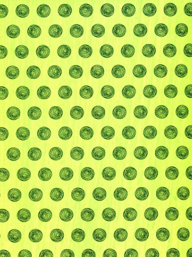 Lime Green Circles Photography Backdrop - 3535 - DropPlace