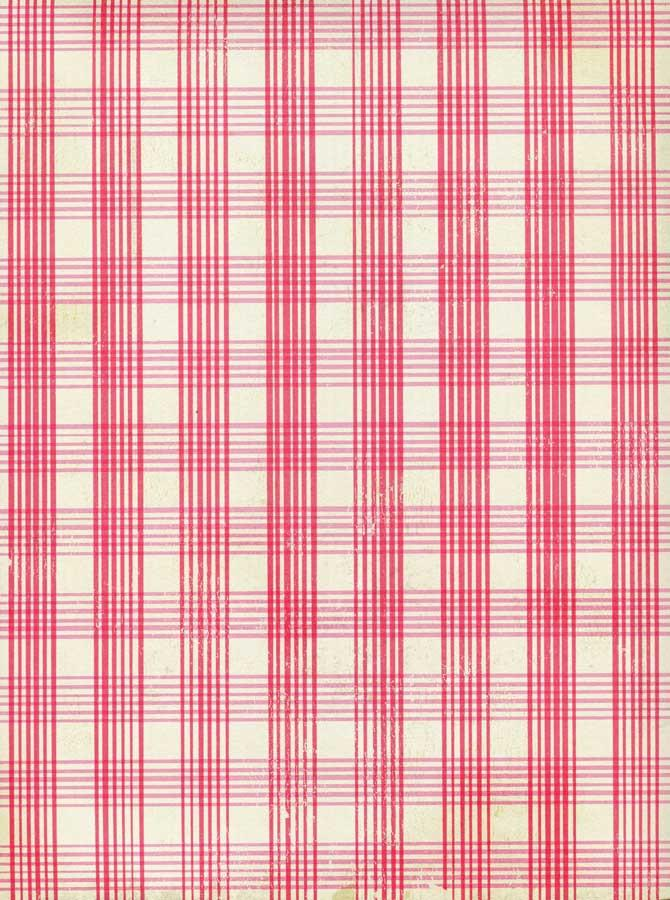 Printed Rose Pink Plaid Backdrop - 3555 - DropPlace