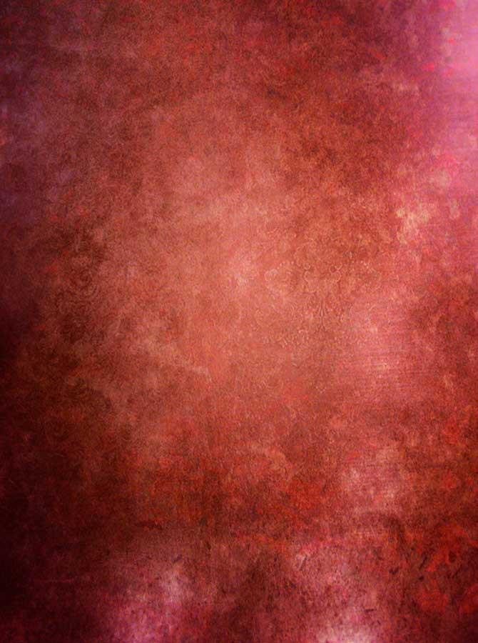 Red Orange Abstract Photo Backdrop - 4064 - DropPlace