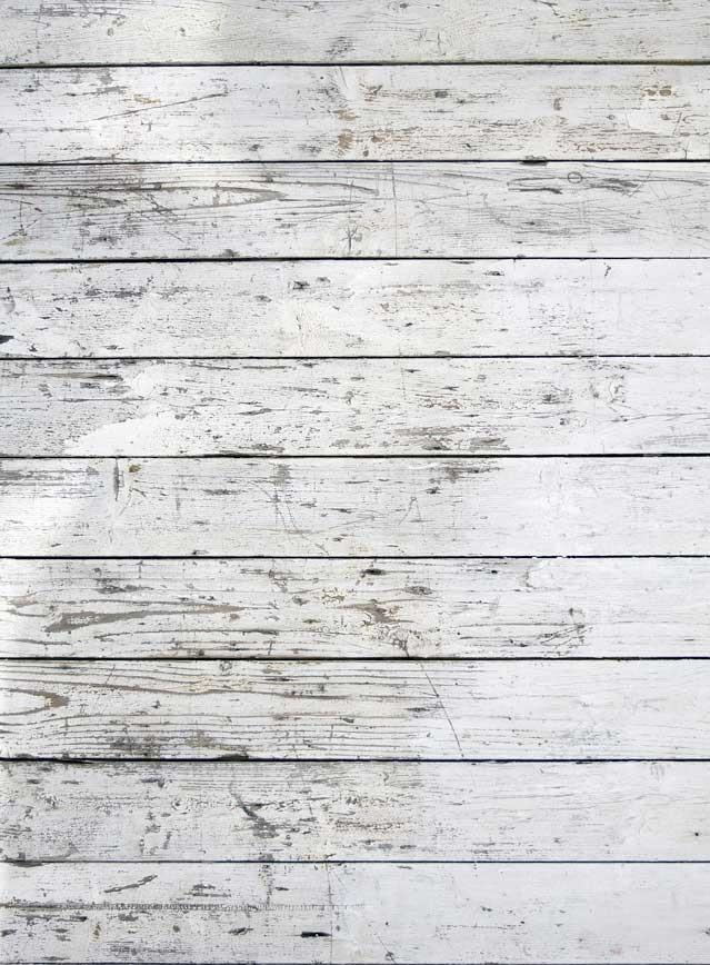 White Weathered Wood Backdrop - 4131 - DropPlace