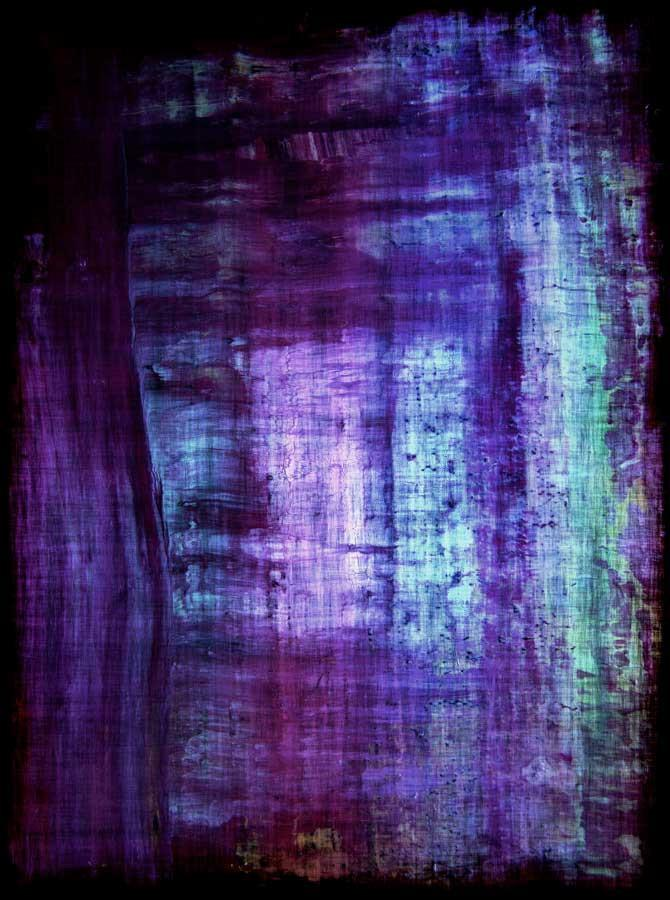 Purple Teal Abstract Backdrop - 4220 - DropPlace