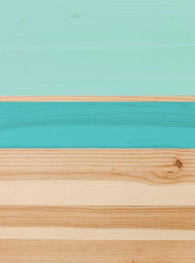 Minimal Abstract Pastel Turquoise Wood Backdrop - 4652 - DropPlace