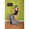 Tufted Lime Printed Photography Backdrop / 508