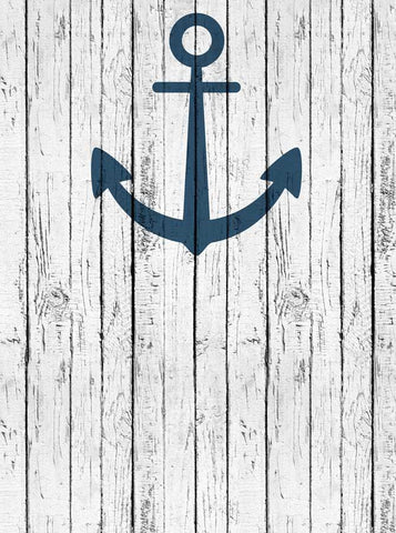 Anchor's Away Scratched White Wood Backdrop - 6138 - DropPlace