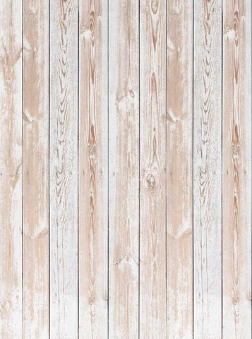 Beige Grunge Wood Floor Backdrop - 6309 - DropPlace