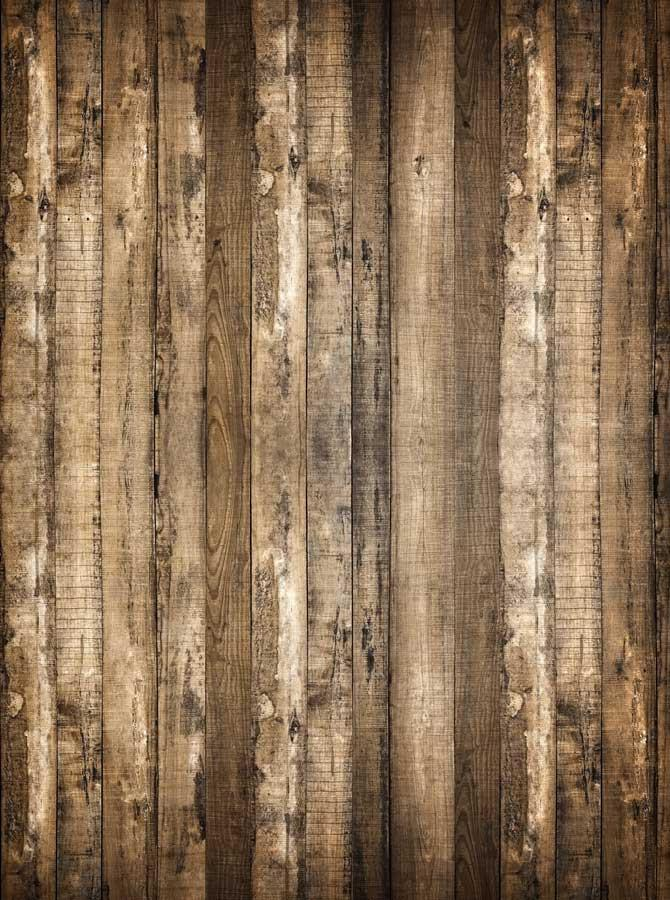 Wrangler Brown Wood Backdrop - 637 - DropPlace