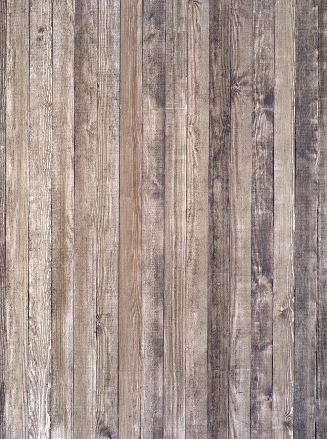 Printed Light Brown Washed Out Wood Backdrop - 6388 - DropPlace