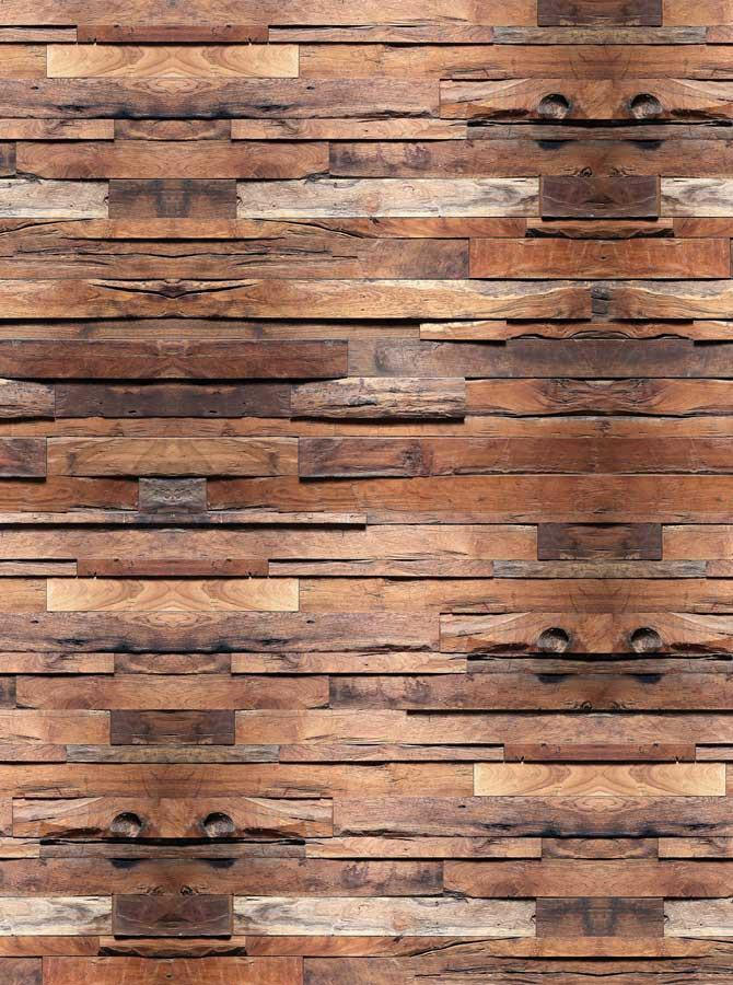 Printed Wood Cabin Floor Wall Panels Photography Background - 6752 - DropPlace