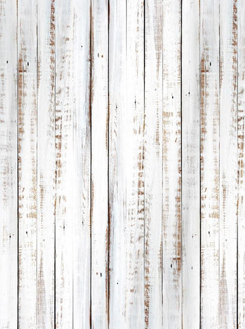 White Washed Out Rustic Wood Printed Backdrop - 6854 - DropPlace