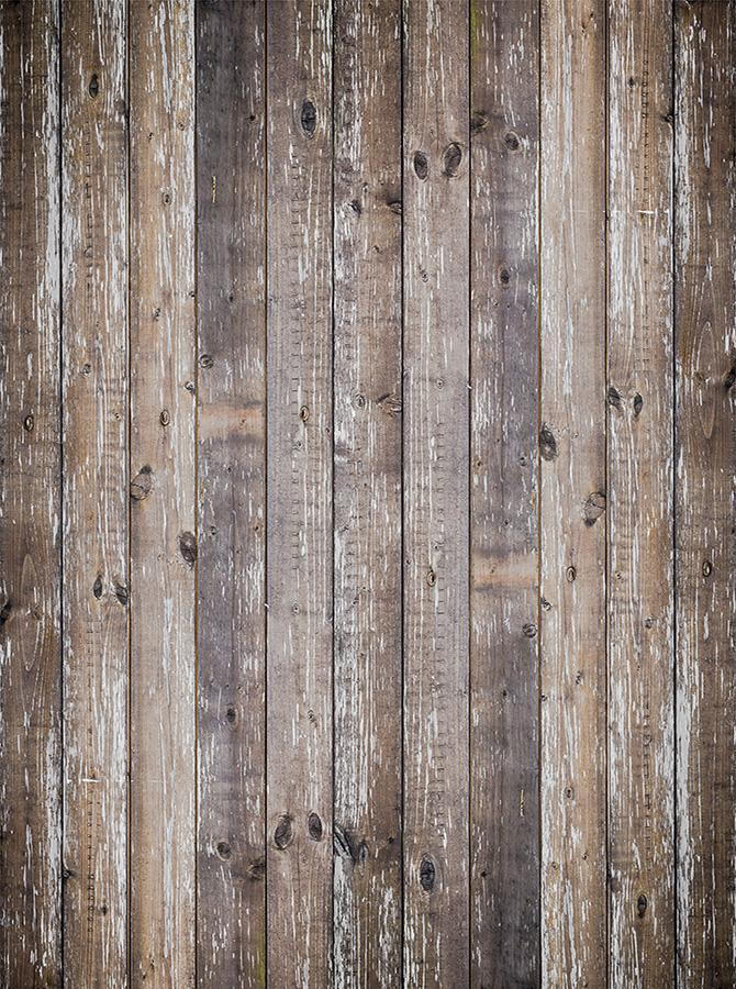 Rustic Grunge Beige Tan Wood Planks Backdrop - 6863 - DropPlace