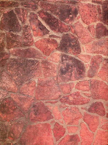 Rust Cobblestone Backdrop - 7183 - DropPlace