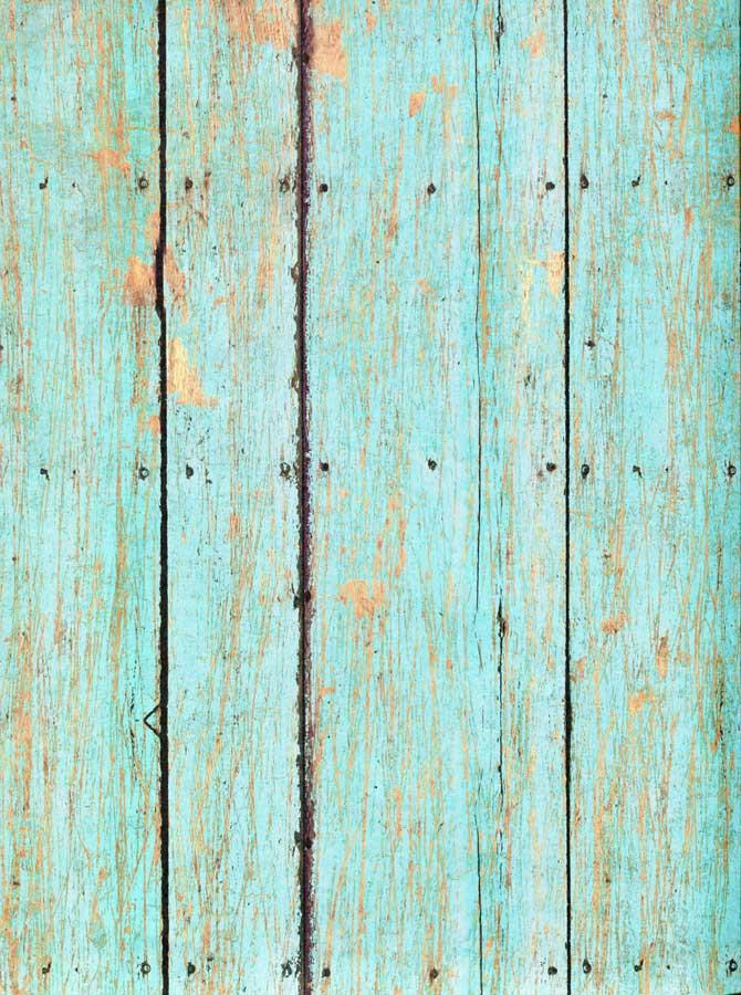 Faded Blue Wood Backdrop - 7189 - DropPlace