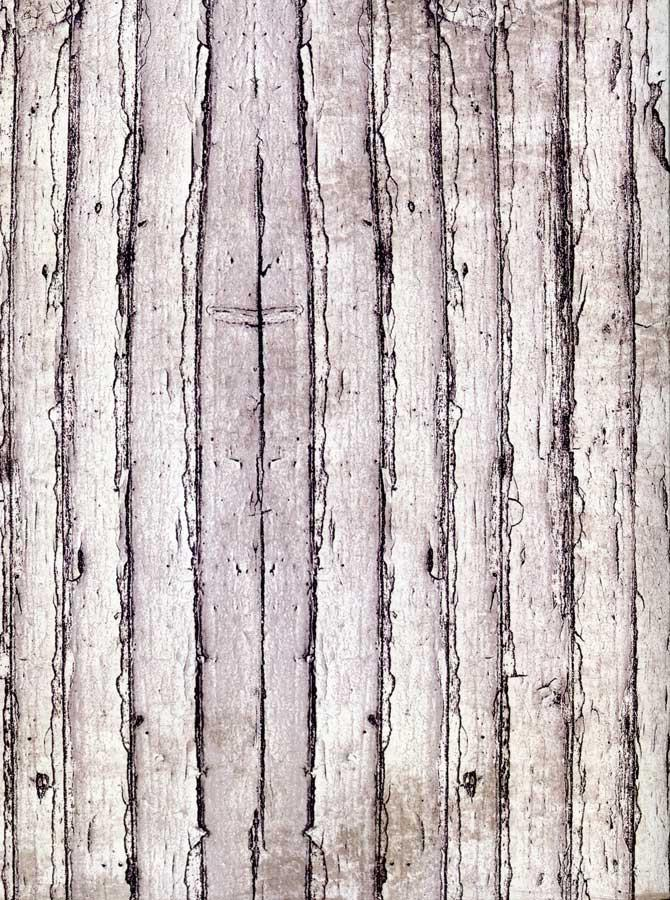 White Wood Planks Backdrop - 7204