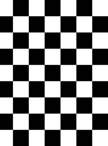 Black White Checkered Backdrop - 820 - DropPlace