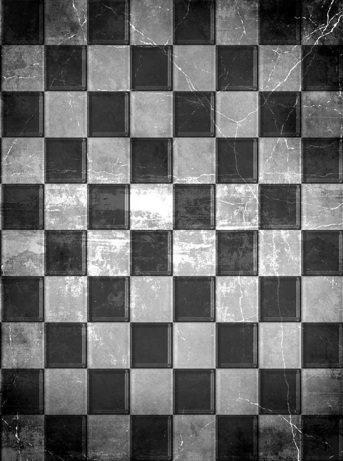 Checkerboard Floor Backdrop - 824 - DropPlace
