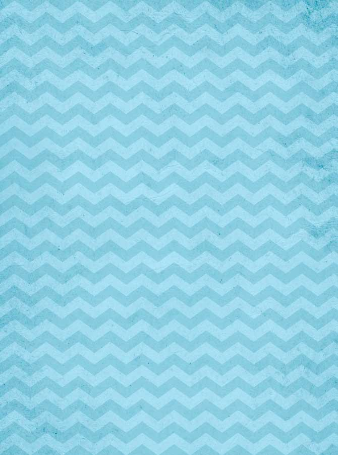 Printed Teal Chevron Photo Backdrop - 9051 - DropPlace