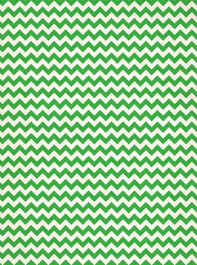 Printed Green Chevron Backdrop - 9147 - DropPlace