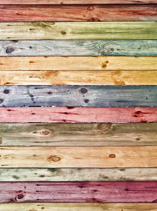 Pastel Wood Backdrop - 970 - DropPlace