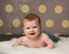 Polka Dot Jubilee Printed Photography Backdrop / 3595 - DropPlace