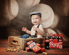 Little Slugger Printed Photo Backdrop / 2423