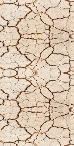 Brown Sand Stone Cracks Printed Backdrop - 6223 - DropPlace
