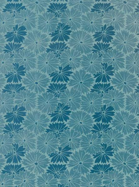 EMPIRE BLUE FLOWERS PRINTED PHOTOGRAPHY BACKDROP / 1083 - DropPlace