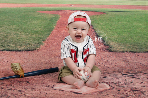 Batter Up Photo Background / 314 - DropPlace