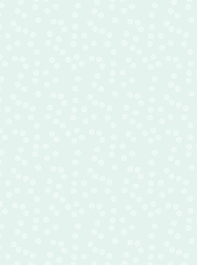 Mint Color With White Polka Dot Printed Backdrop - 6160 - DropPlace