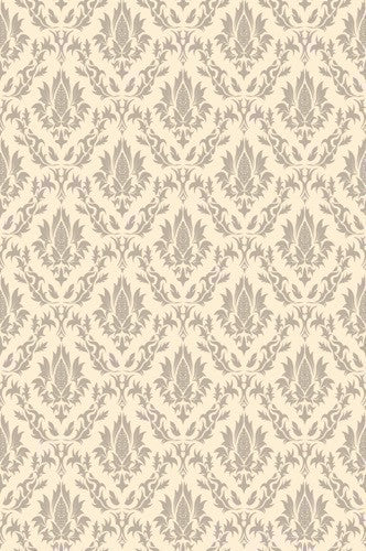 Edgecomb Gray Damask Printed Photography Background / 984