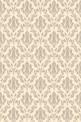 Edgecomb Gray Damask Printed Photography Background / 984 - DropPlace