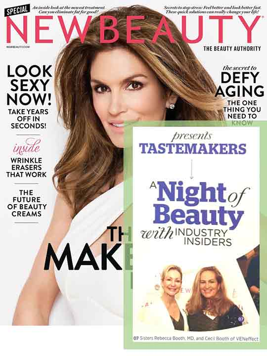 New Beauty Magazine & VENeffect Anti-Aging Skin Care co-founders