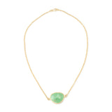Chrysoprase Chain Necklace